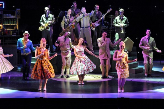 Production shot from the 2012 tour of Save the Last Dance for Me