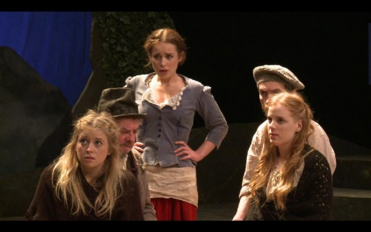 The hedge school. Production photo.