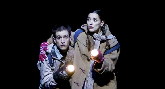 Sophie Martin and Constant Vigier in Christopher Hampson's Hansel & Gretel. Photograph by Andy Ross