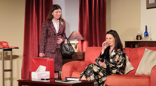 Bethany Laing (Ruth)  and Chris Mitchell (Helen Tenby). Photo © Sarah Howley