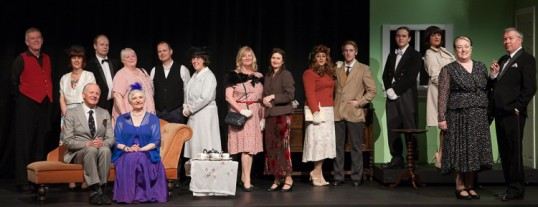 The full cast of EPT's Dick Barton – Special Agent. Photo © Rob Fuller