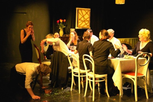 A scene from the Grads' productionof August: Osage County. Photo © Howard Elwyn-Jones.