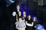 The Addams Family in the Graveyard. Photo ©  Andrew Gowland