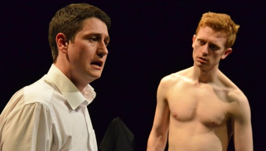 James Garvock and Daniel Campbell. Photo: Trig Point Theatre