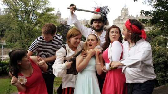 Pirates cast out on the town. Photo: Cat-Like Tread