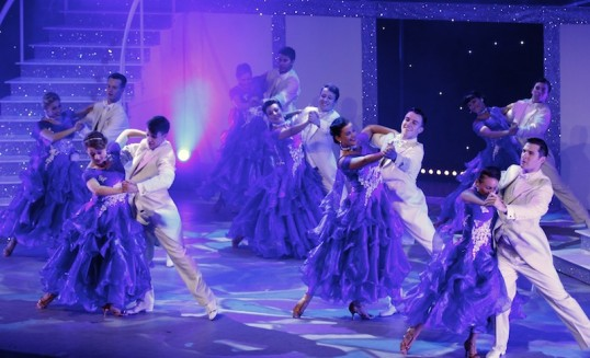 A dance sequence from Puttin' on the Ritz. Photo: Spirit Productions