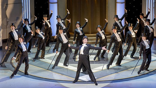 A big dance scene from Top Hat