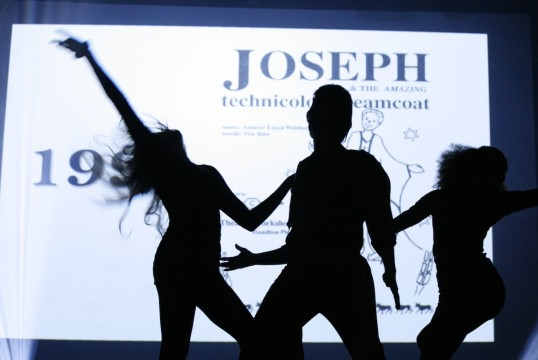 1993 - Joseph silhouette. Photo Mark Gorman