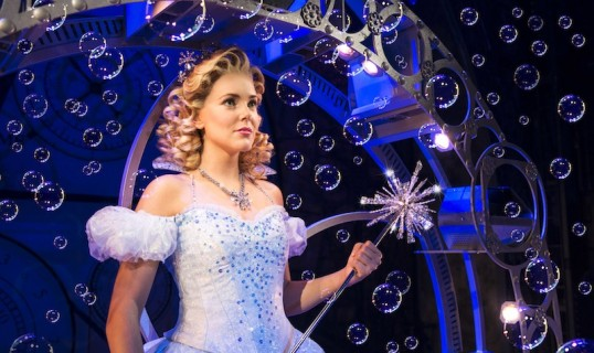 Emily Tierney as Glinda. Photo: Matt Crockett