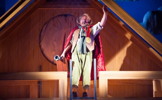 Lewis Howden as The BFG. Photo Tommy Ga-Ken Wan
