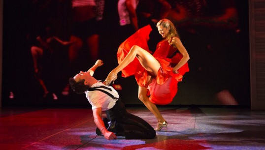 Gareth Bailey and Claire Rogers. Photo: Dirty Dancing Tour
