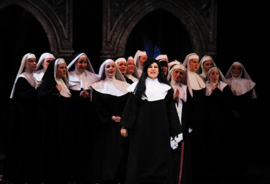 Delores and the Nuns. Photo Richard Moir