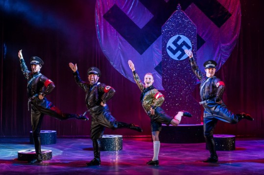 Goose Steps and Glitter. It can only be Springtime for Hitler. Photo Manuel Harlan