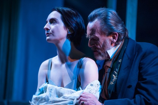 Nicola Daley (Hedda Gabler), Benny Young (Judge Brack). Photo Tommy Ga-Ken Wan