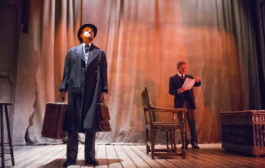 Setting the stage: A scene from The Woman In Black. Photo: Tristram Kenton