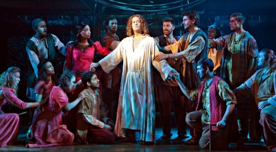 Glenn Carter as Jesus Christ. Photo: Pamela Raith Photography