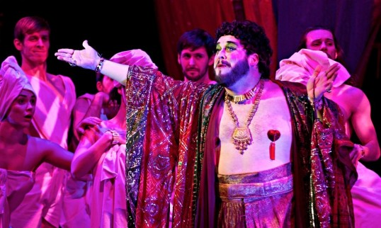 Tom Gilling as Herod. Photo: Pamela Raith Photography