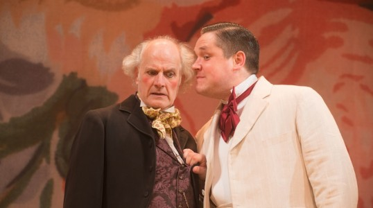 Kern Falconer as the Provost and Grant O' Rourke as Zanetto Photo Alan McCredie
