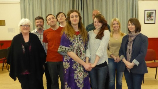 Tartuffe Cast In Rehearsal. Photo: John McLinden