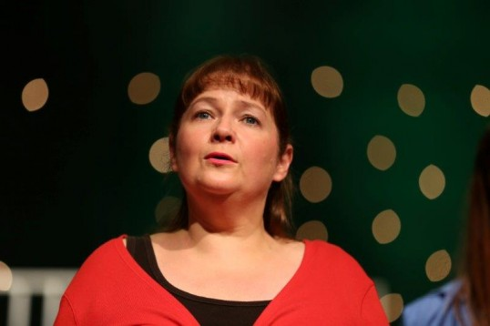 Carol McGovern performing. Photo Showcase Musical Productions