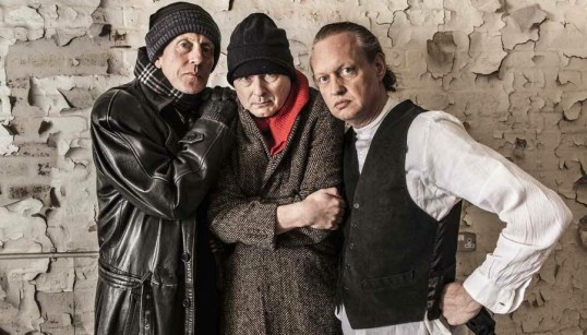 Michael Daviot, Nick Cheales and Robert Williamson. Photo Siege Perilous