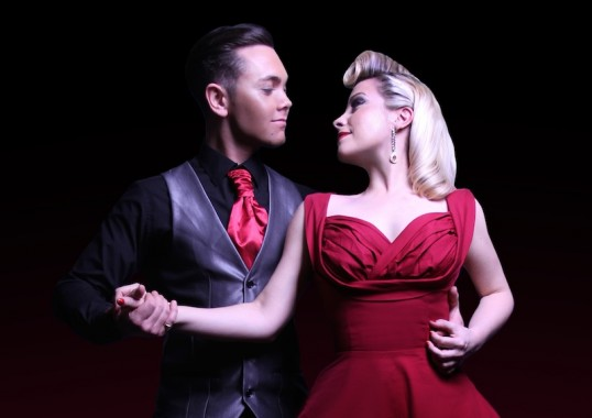 Ray Quinn and Louise Dearman. Photo: Publicity