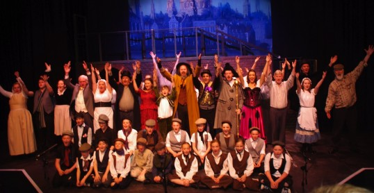 The Cast of Encore's Oliver. Photo: Peter Antonelli