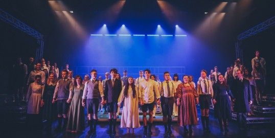 Full cast of Spring Awakening by MGA. Photo Richard Findlay