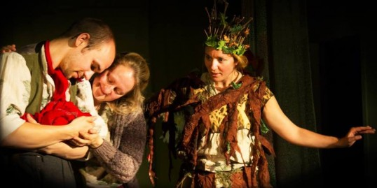 A scene from Fraxi, Queen of the Forest. Photo Asylon Theatre