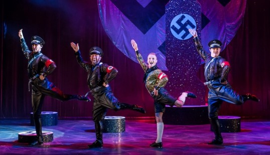 Goose Steps and Glitter. It can only be Springtime for Hitler. Photo Manuel Harlan from the 2015 professional tour