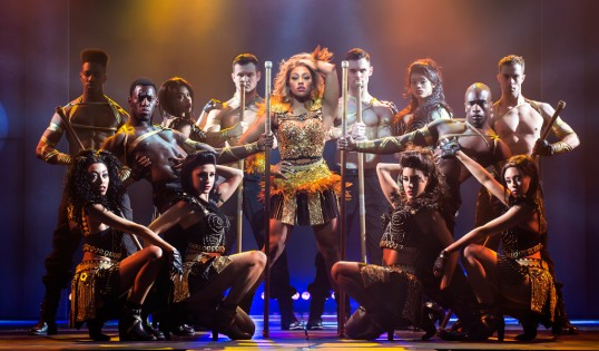 Alexandra Burke (Photo of West End production) photo Paul Coltas