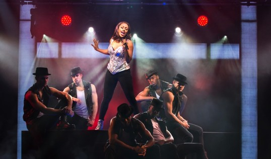 Alexandra Burke (Photograph of West End production). Photo Paul Coltas