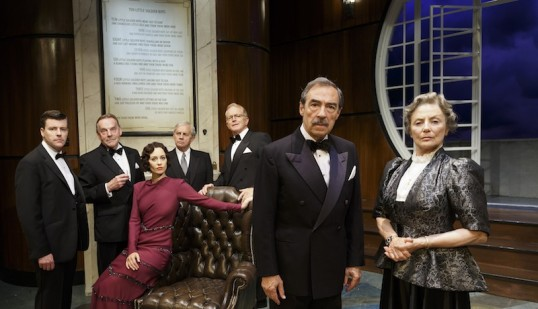 The Cast of And Then There Were None. Photo: Production