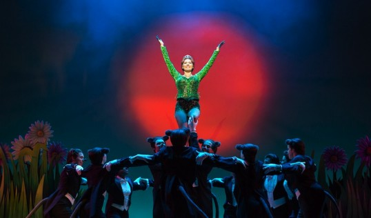 Bronte Barbe (Princess Fiona) and company. Photo Helen Maybanks