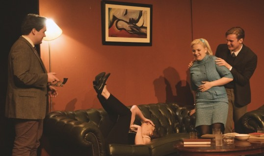 Henry Conklin, Catherine Elms, Jodie Mitchell and Macleod Stephen. Photo Audrey Fawkes Photography