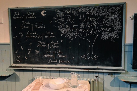The Hetman Family Tree by Ryoko Tamura. Photo: Peapod Productions