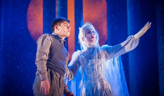 Christian Ortega (Edmund), Pauline Knowles. Photo: Tommy Ga Ken Wan
