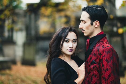Morticia and Gomez - EUSOG Presents: The Addams Family, A Musical