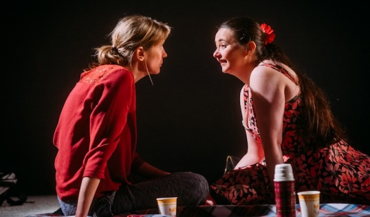 Deborah Arnott (Shula) and Karen Bartke (Avril). Photo Mihaela Bodlovic