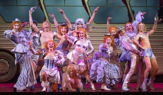 Go West! - a scene from Priscilla Queen of the Desert Photo Paul Coltas