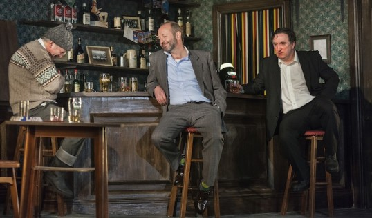 Darragh Kelly ( Jim) Frank McCusker (Finbar) Gary Lydon (Jack). Photo: Drew Farrell