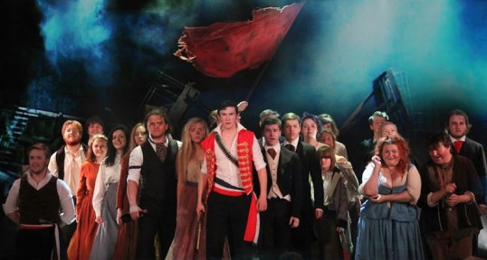 A previous production of Les Miserables at Fringe. Photo: Captivate Drama