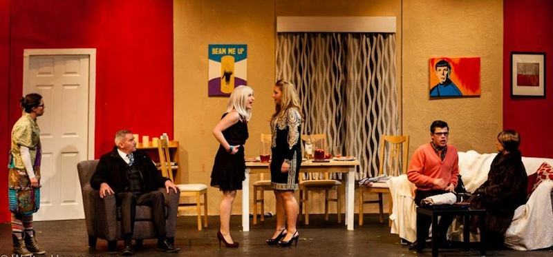 Erica & Me by Alan Robinson, performed by St Serf Players starring Charlie West, Derek Ward, Rona Arrnot, Vicki Horne, Lyndsey Spence.Sophie Williams and Fredericka Morrison