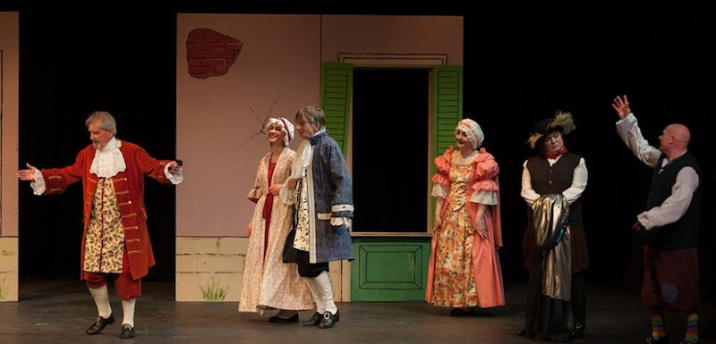 The Flying Doctor by Moliere, performed by Leitheathre-Sunnyside, directed by Matt Mason. Photo Walter Hampson
