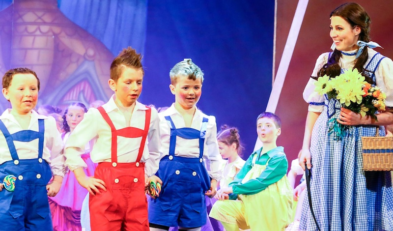 The Lollipop Guild and Anna Chidgey. Photo Tracey Largue Photography