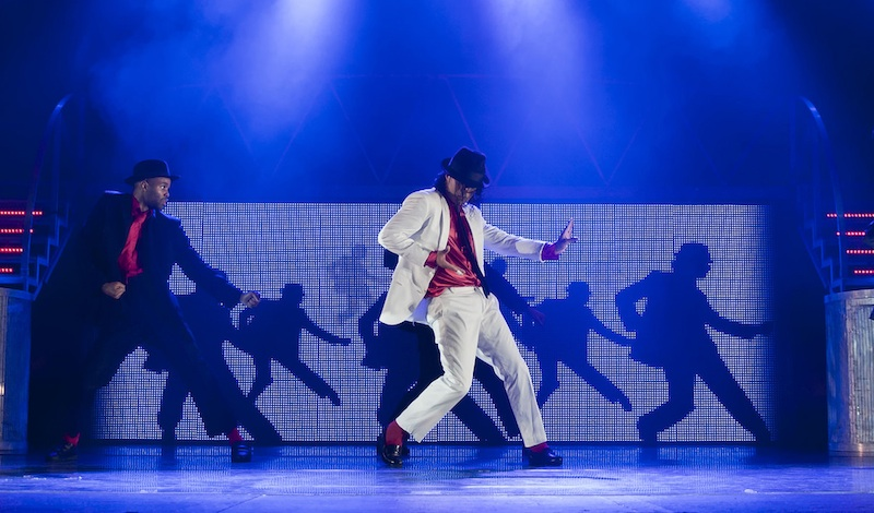A scene from Thriller LIVE at the Festival Theatre. Photo: production.