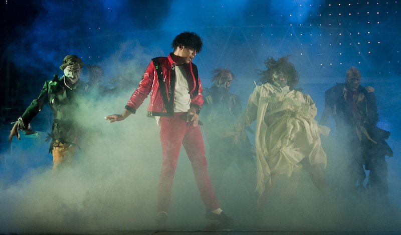 Throw in a few zombies - a Thriller! from Thriller LIVE. Photo: Production.