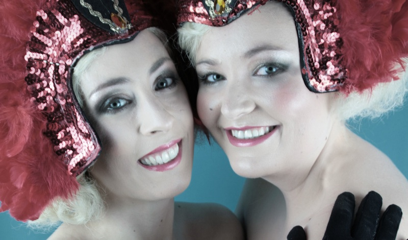 Claire Riddoch and Vikki Hyndman - The Fallen Angels in Anything Goes. Photo: MAMA