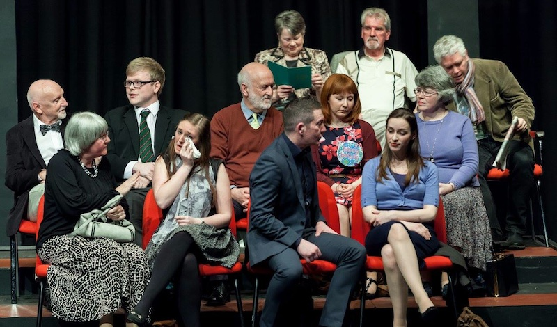 Leitheatre with Audience at Lochgelly Photo: Walter Hampson